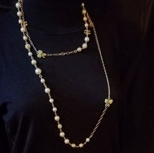 Chanel vintage charm necklace